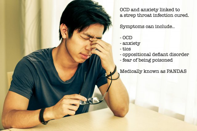Anxiety and OCD Onset By A Strep Throat Infection